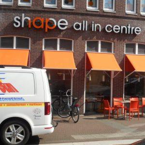 sportschool_shape_allin_montage_uitvalschermen_protectsun_zonwering_amsterdam